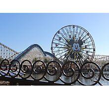 Disney Boardwalk Photographic Print