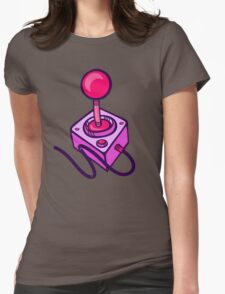 Joystick Womens Fitted T-Shirt