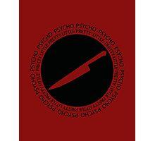 [Yangire] Pretty Little Psycho (Black) Photographic Print