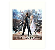 FINAL FANTASY XV WEDDING TEMBOK Art Print