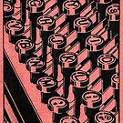 Typewriter c. 1935 by CircaWhat