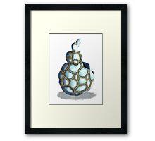 Broken Ornament Framed Print
