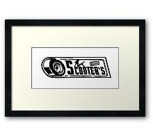 Scooter's Workshop Framed Print