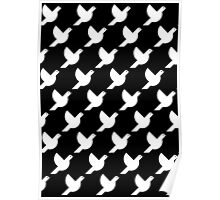 Dove Pattern Poster
