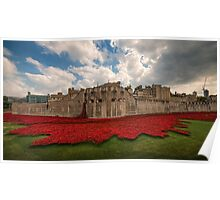 Tower of London Remembers.  Poster