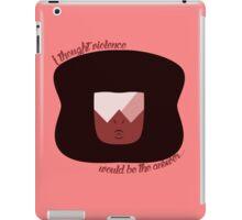 Garnet is Helping iPad Case/Skin