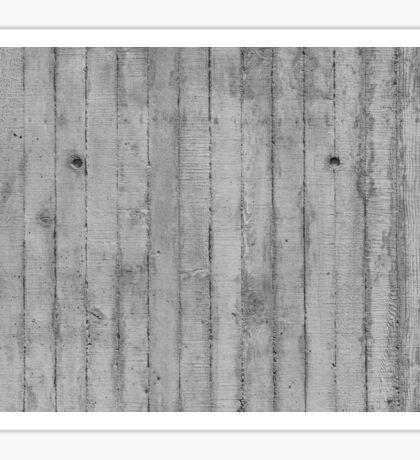 Board Marked Concrete Texture, Vertical Sticker