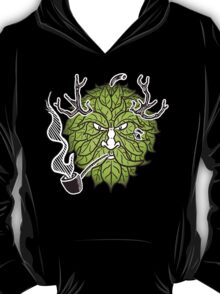 Hop Head Green Man T-Shirt