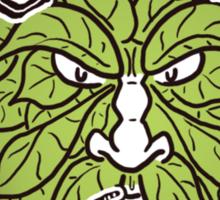 Hop Head Green Man Sticker