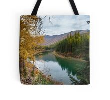 North Fork River of the Flathead River Tote Bag