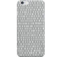 Analog in Whisper Grey iPhone Case/Skin