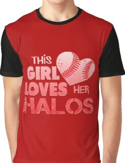 Angels Love Their Halos Graphic T-Shirt