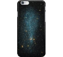 Blue gold galaxy iPhone Case/Skin
