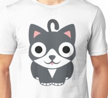 Lovely Cat Emoji Shocked and Surprised Look Unisex T-Shirt