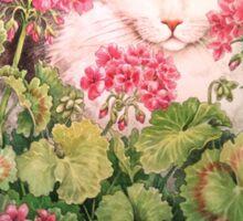 Baby Blossom, Kitten Sticker