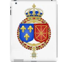 Coat of Arms of France and Navarre  iPad Case/Skin