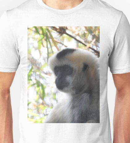 White-cheeked gibbon Unisex T-Shirt