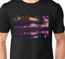 Impressions of Rome - Red Riverside Restaurant Unisex T-Shirt