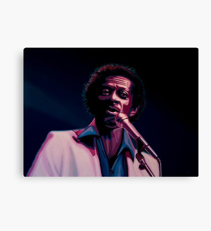 Chuck Berry Painting Canvas Print