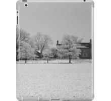 Wintry Farmhouse iPad Case/Skin