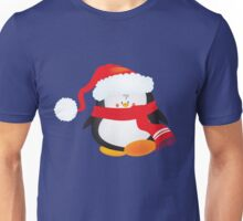 cute little xmas penguin Unisex T-Shirt