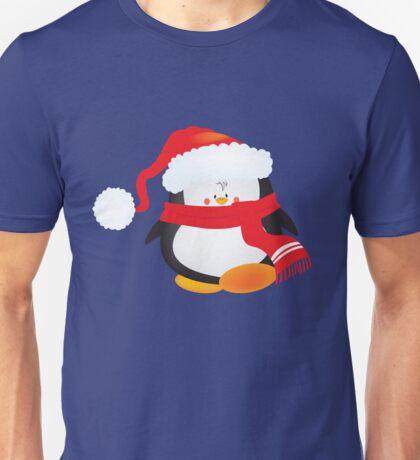 cute little xmas penguin Unisex T-Shirt