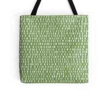Analog in Green Tote Bag