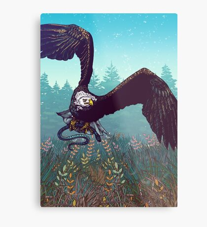 The Hunt Metal Print