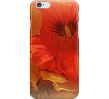 Nasturtium Macro iPhone Case/Skin