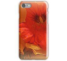 Nasturtium Macro iPhone Case/Skin
