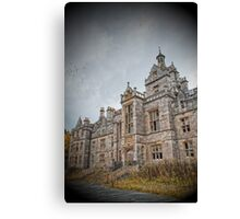 Arriving at the Asylum Canvas Print