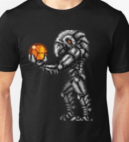 Chozo Holding Samus T-shirt Unisex T-Shirt