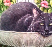 Sir Nightly, Cat of Mystery Sticker