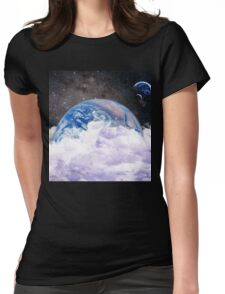 earth in space Womens Fitted T-Shirt