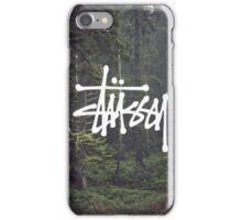 Landscape - Stussy iPhone Case/Skin