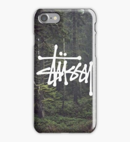Landscape - Stussy iPhone Case/Skin