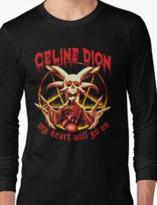My Heart Will Go on Metal Shirt Long Sleeve T-Shirt