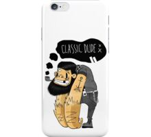 Classic dude iPhone Case/Skin