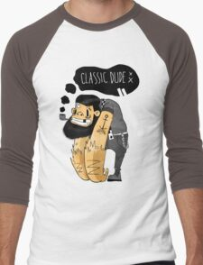 Classic dude Men's Baseball ¾ T-Shirt