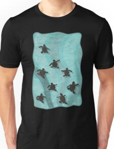 Loggerhead Sea Turtle Hatchlings Unisex T-Shirt