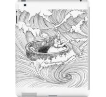 Whirlpool and a Wicker Basket iPad Case/Skin