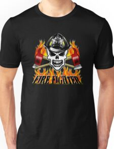 Firefighter Skull 2.5 Unisex T-Shirt