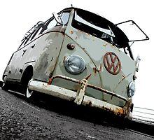 VW Campervan by mudandcustard