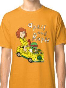 April and Raph Classic T-Shirt