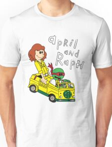 April and Raph Unisex T-Shirt