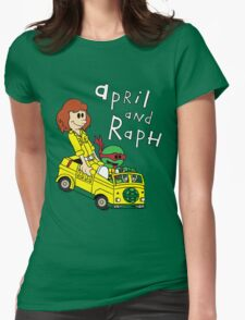 April and Raph Womens T-Shirt