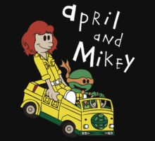 April and Mikey Kids Tee