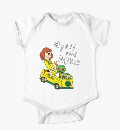 April and Mikey One Piece - Short Sleeve