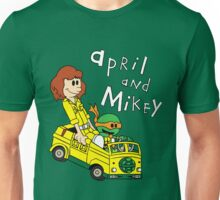 April and Mikey Unisex T-Shirt