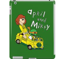 April and Mikey iPad Case/Skin
